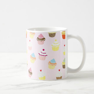 Colorful Cupcakes Pattern Coffee Mug