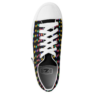 Colorful Cupcakes Pattern Low-Top Sneakers
