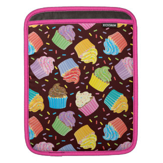 Colorful Cupcakes Sleeve For iPads