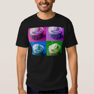 Colorful Cupcakes Tee Shirt
