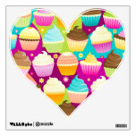 Colorful Cupcakes Wall Skins