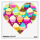 Colorful Cupcakes Wall Sticker