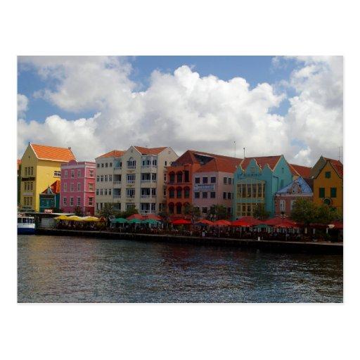 Colorful Curacao Postcard
