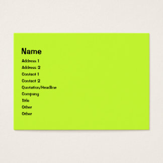 Colorful Curls photo frame Business Card