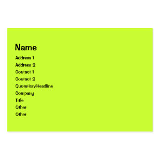 Colorful Curls photo frame Business Cards