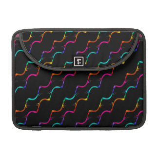 Colorful Curls Sleeves For MacBooks