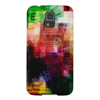 Colorful Currency Collage Galaxy S5 Cover