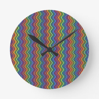 Colorful Curves Clock