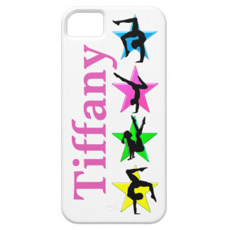 COLORFUL CUSTOM GYMNASTICS IPHONE CASE iPhone 5 COVERS