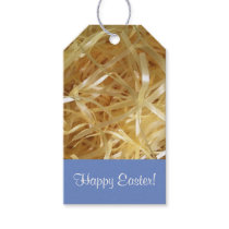 Colorful Customizable Easter Grass Gift Tags