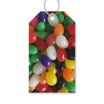 Colorful Customizable Easter Jelly Beans Gift Tags