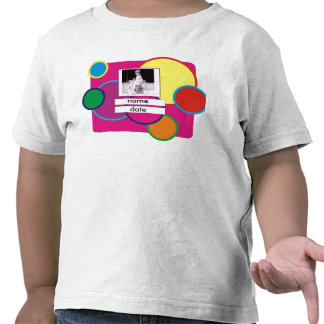 Colorful Customize it Birthday Girl T-shirt