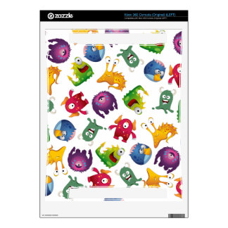 Colorful Cute Monsters Fun Cartoon Skin For The Xbox 360