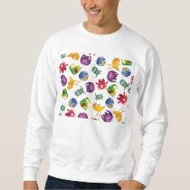 Colorful Cute Monsters Fun Cartoon Sweatshirt