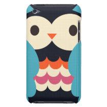 Colorful Cute Owl iPod Case-Mate Case
