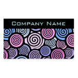 Colorful Cute Retro Business Card Business Card Template