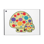 Colorful Cute Spotted Kawaii Mushroom Toadstools iPad Mini Covers