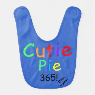 Colorful Cutie Pie 365 Days A Year Bib