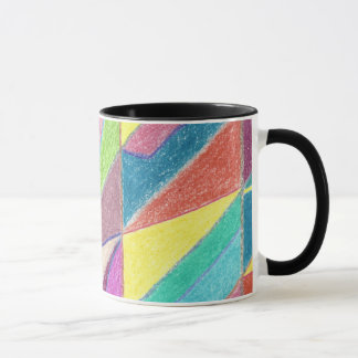 Colorful Cuts and Facets Mug