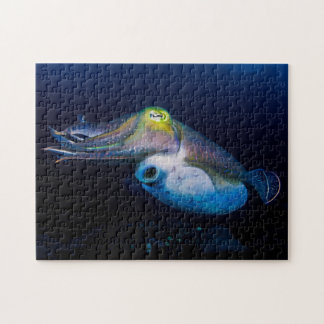 Colorful Cuttlefish Jigsaw Puzzle
