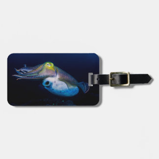 Colorful Cuttlefish of the Coral Sea Luggage Tag