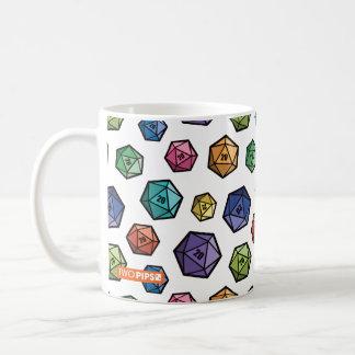 Colorful D20 Mug