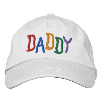 Colorful DADDY Embroidered Hats