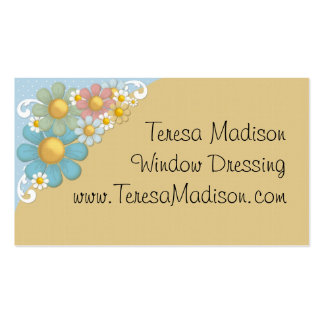 Colorful Daisies All Purpose Business Card