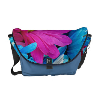 Colorful Daisies Messenger Bag