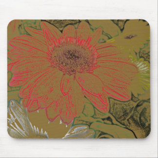 Colorful Daisies Mousepad