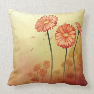 Colorful Daisies Pillows