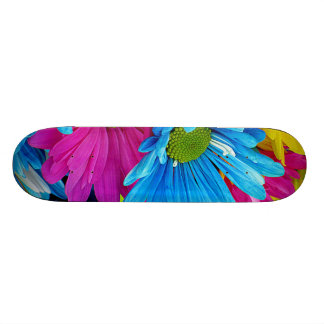 Colorful Daisies Skateboard Deck