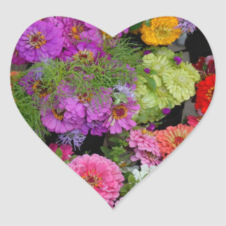 Colorful Daisies Sticker