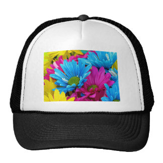 Colorful Daisies Trucker Hat