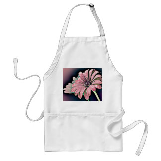 Colorful Daisy Adult Apron