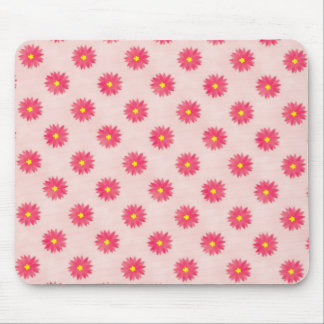 Colorful Daisy Pattern Mouse Pad