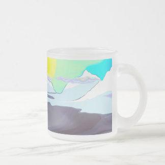 Colorful Dallas Morning Mug