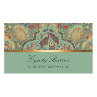 Colorful Damask  Business Card