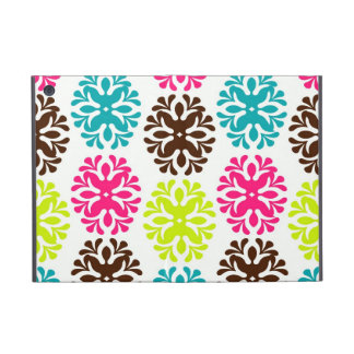 Colorful damask floral girly cute flower pattern iPad mini cover