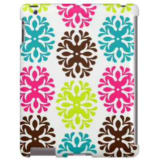 Colorful damask floral pattern girly cute flower