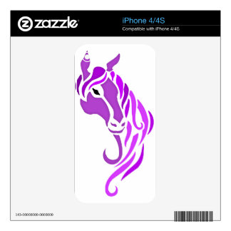 Colorful Damask Skins For iPhone 4