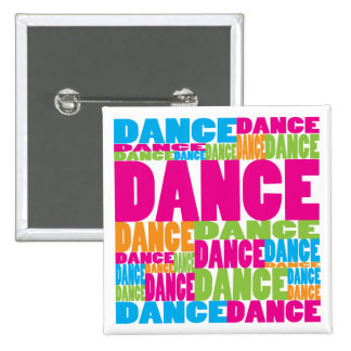 Colorful Dance Pinback Button