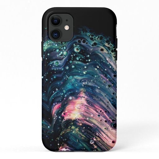 Colorful & Dark Marble Pattern  iPhone 11 Case