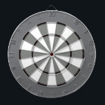 "Colorful Dart Board in Black and White<br><div class=""desc"">It&#39;s like an old black and white movie dartboard! Dart board in cool colors instead of the usual red and black (or a photo where you can&#39;t see the targets). This is great for the game room or a teens bedroom. Colors range from crazy to subdued so you are sure...</div>"