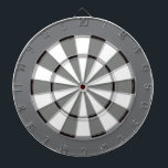 """Colorful Dart Board in Black and White<br><div class=""""desc"""">It&#39;s like an old black and white movie dartboard! Dart board in cool colors instead of the usual red and black (or a photo where you can&#39;t see the targets). This is great for the game room or a teens bedroom. Colors range from crazy to subdued so you are sure...</div>"""