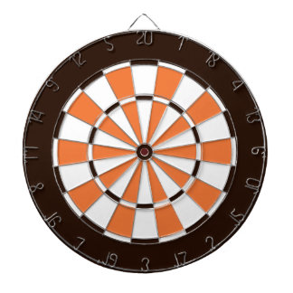 Colorful Dart Board in Cleveland colors