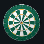 "Colorful Dart Board in Green Bay colors<br><div class=""desc"">Dart board in Green Bay colors.</div>"