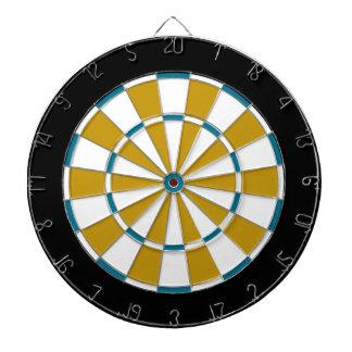 Colorful Dart Board in Jacksonville colors