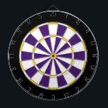 "Colorful Dart Board in Minnesota colors<br><div class=""desc"">Dart board in Minnesota colors.</div>"