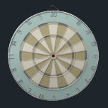 "Colorful Dart Board in Muted Neutrals<br><div class=""desc"">Dart board in cool colors instead of the usual red and black (or a photo where you can"